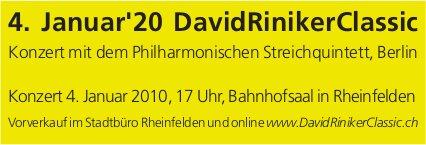 DavidRinikerClassic, 4. Januar 2020, Bahnhofsaal in Rheinfelden