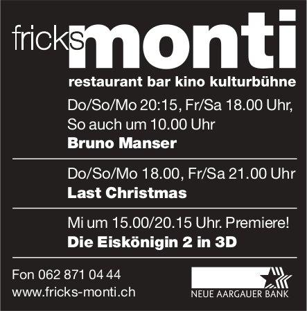 Fricks Monti - Programm & Events