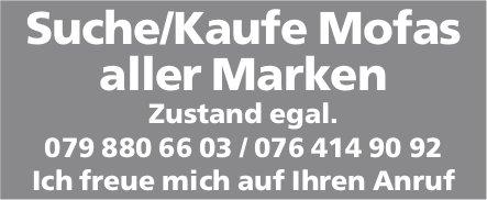 Suche/Kaufe Mofas aller Marken. Zustand egal.