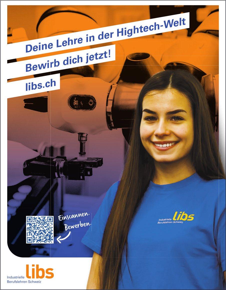 libs - Deine Lehre in der Hightech-Welt - Bewirb dich jetzt!