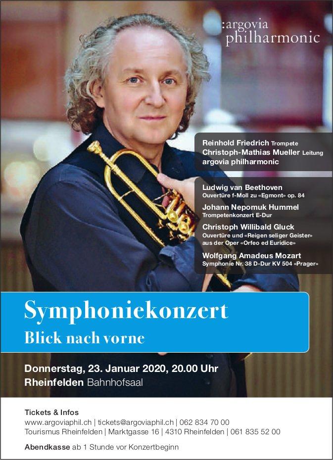 Argovia Philharmonic - Symphoniekonzert: Blick nach vorne am 23. Januar