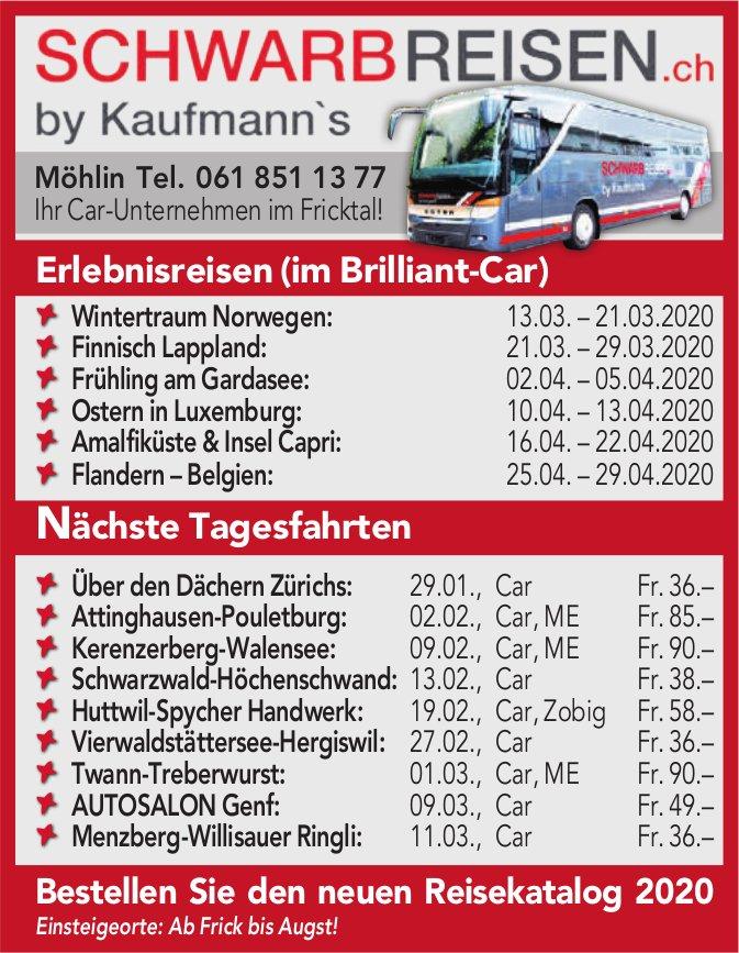Schwarbreisen. ch by Kaufmann's - Programm & Events