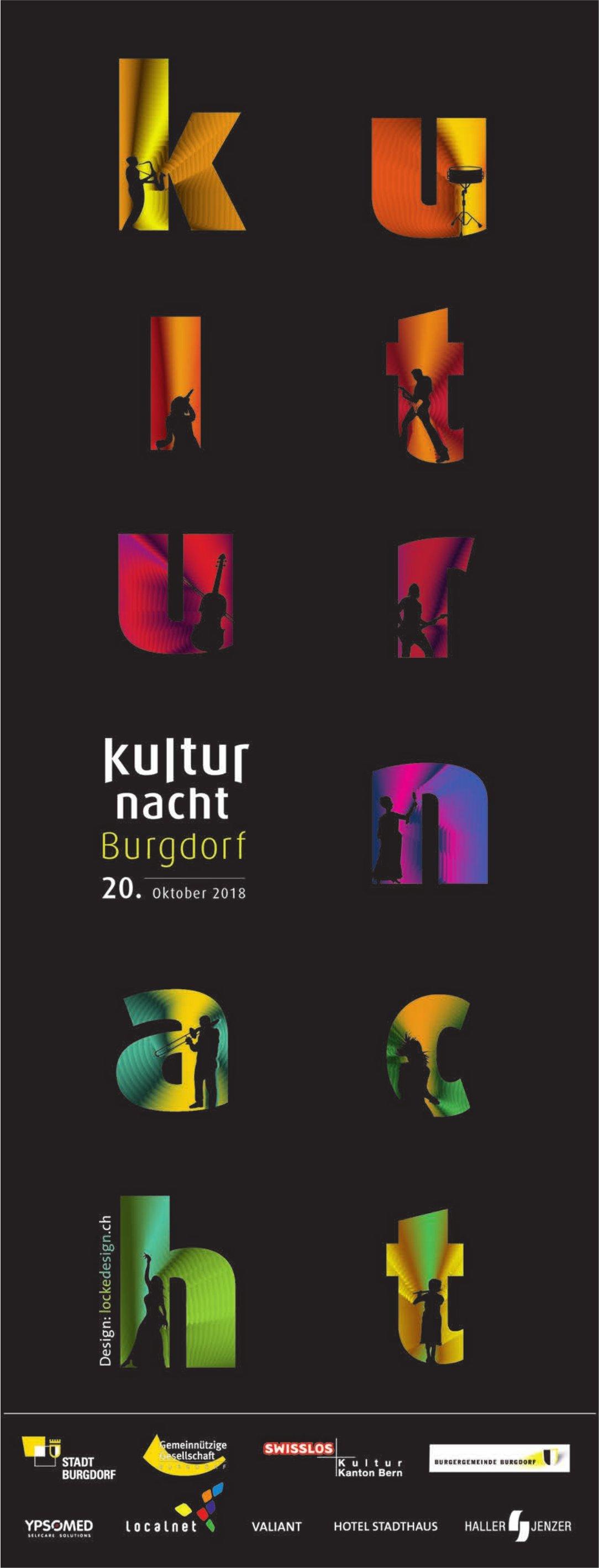 Kullturnacht Burgdorf am 20. Oktober