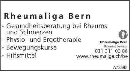 Rheumaliga Bern - Gesundheitsberatung bei Rheuma und Schmerzen usw.