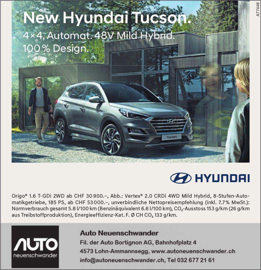 New Hyundai Tucson, Auto Neuenschwander