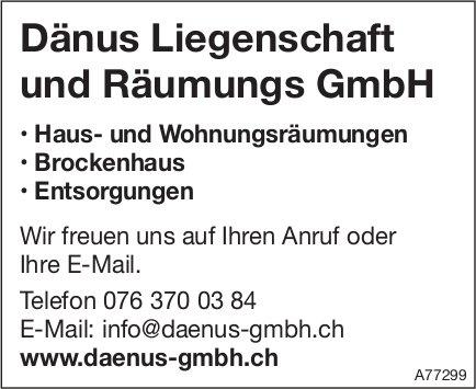 Dänus Liegenschaft und Räumungs GmbH