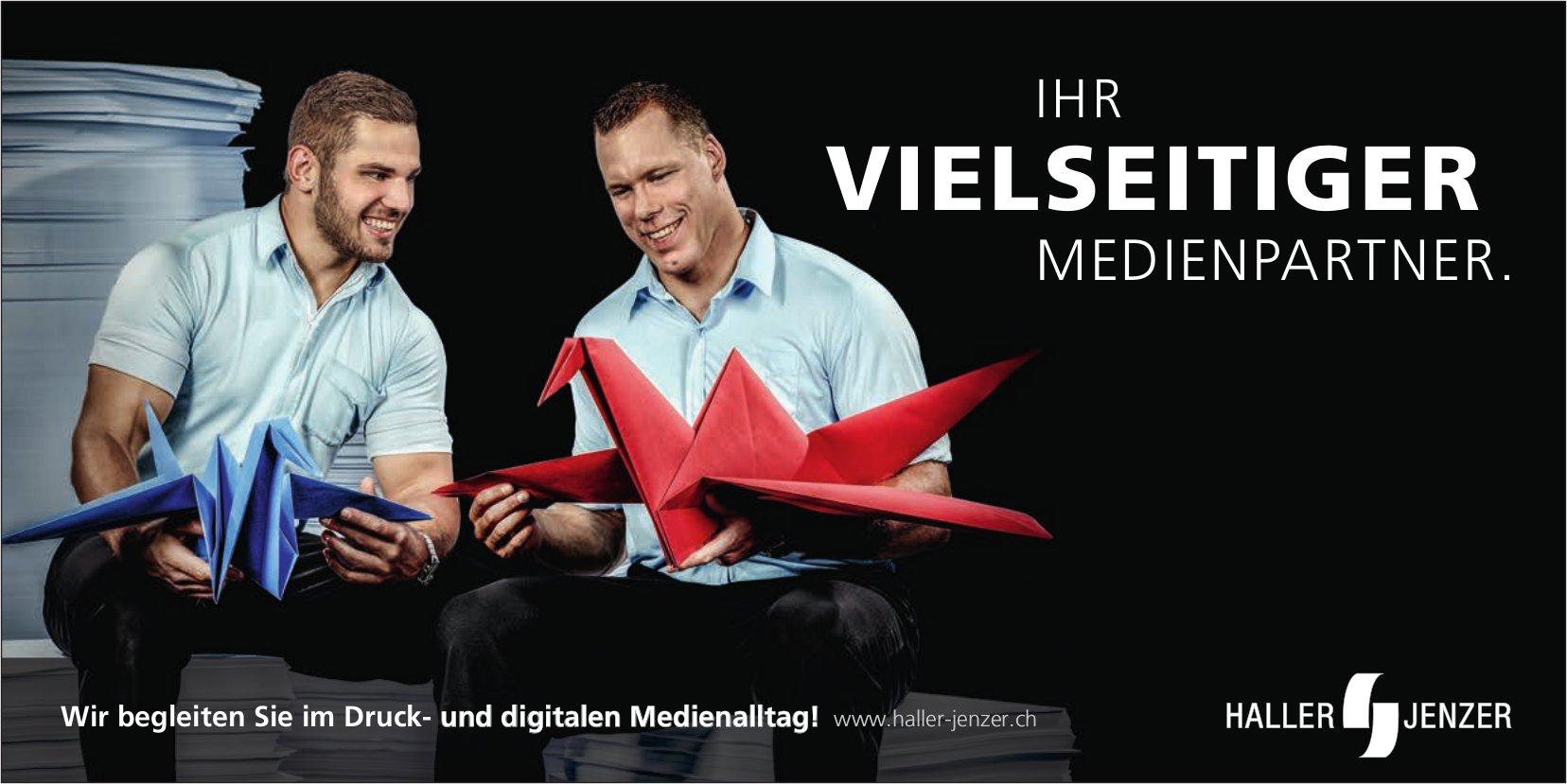 Ihr vielseitiger Medienpartner, Haller Jenzer