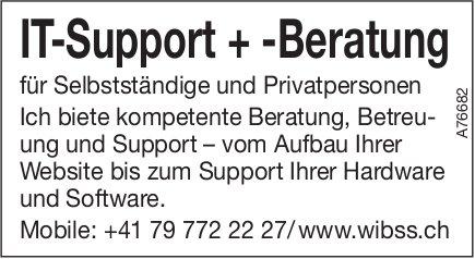 IT-Support + -Beratung für Selbstständige und Privatpersonen