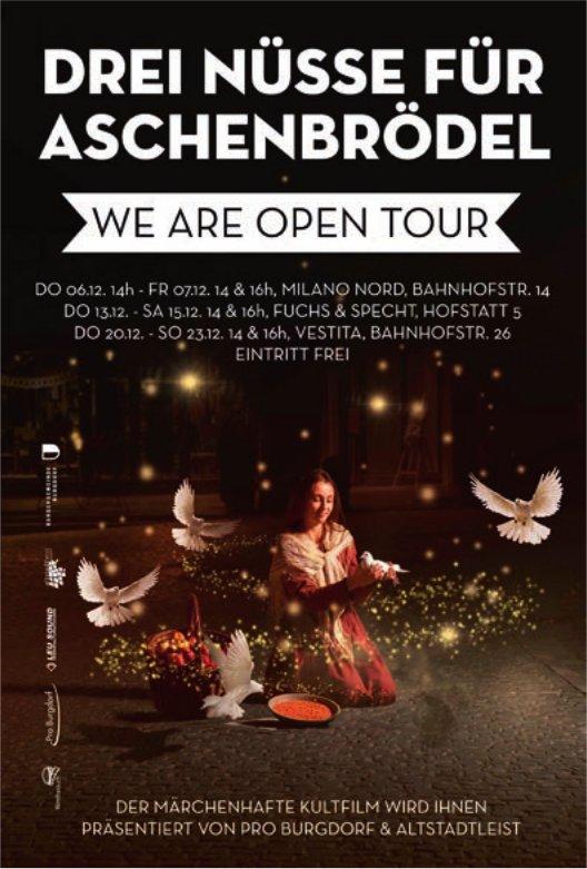 Drei Nüsse für Aschenbrödel - We Are Open Tour