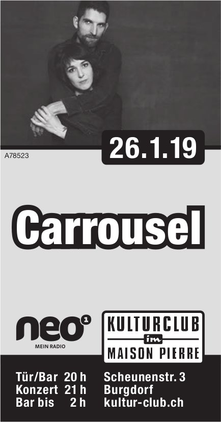 Kulturclub im Maison Pierre - Carrousel am 26. Januar