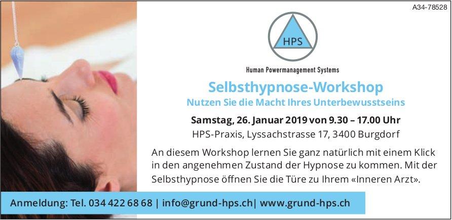 HPS-Praxis - Selbsthypnose-Workshop am 26. Januar