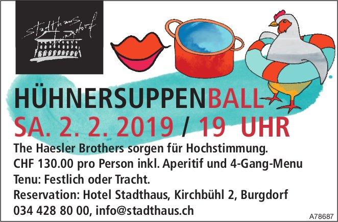 Hotel Stadthaus - HünersuppenBall am 2. Februar: The Haesler Brothers sorgen für Hochstimmung.