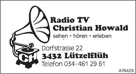 Radio TV Christian Howald - Sehen, hören, erleben