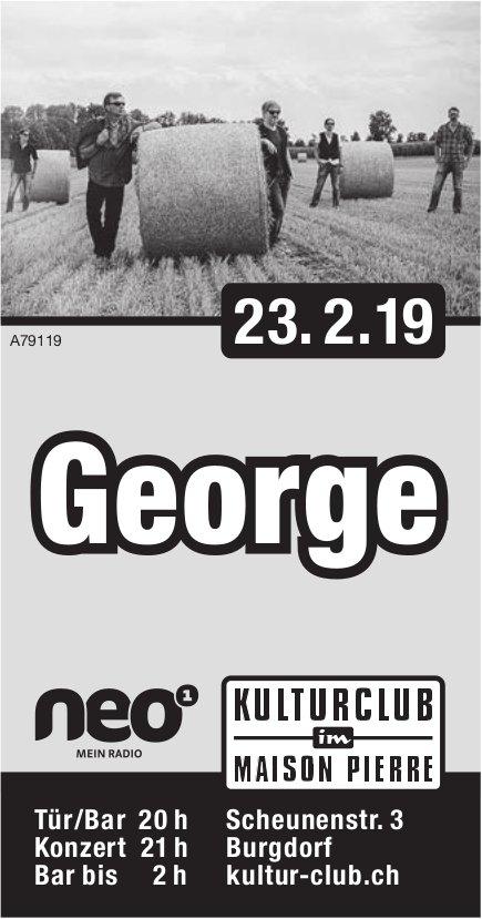 Kulturclub im Maison Pierre - George am 23. Februar