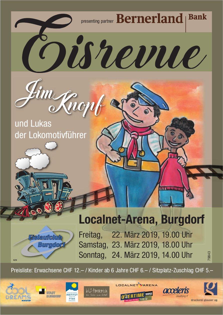 Eisrevus, Jim Knopf, Localnet-Arena, Burgdorf, 22./23./24. März