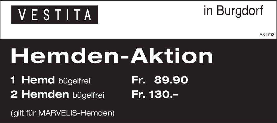 VESTITA in Burgdorf - Hemden-Aktion