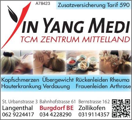 YIN YANG MEDI - TCM ZENTRUM MITTELLAND