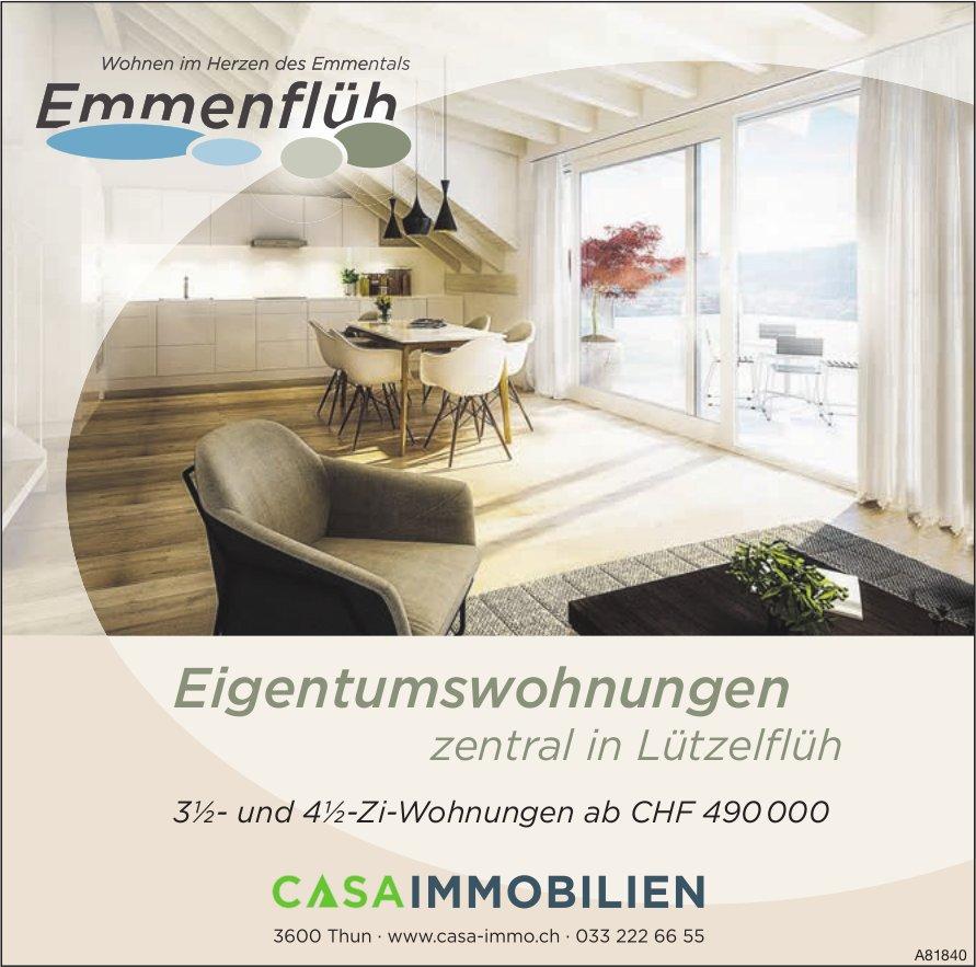 Emmenflüh - Eigentumswohnungen zentral in Lützelflüh zu verkaufen
