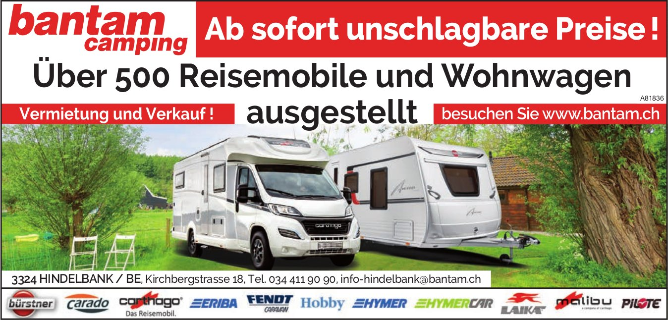 Bantan Camping - Ab sofort unschlagbare Preise !