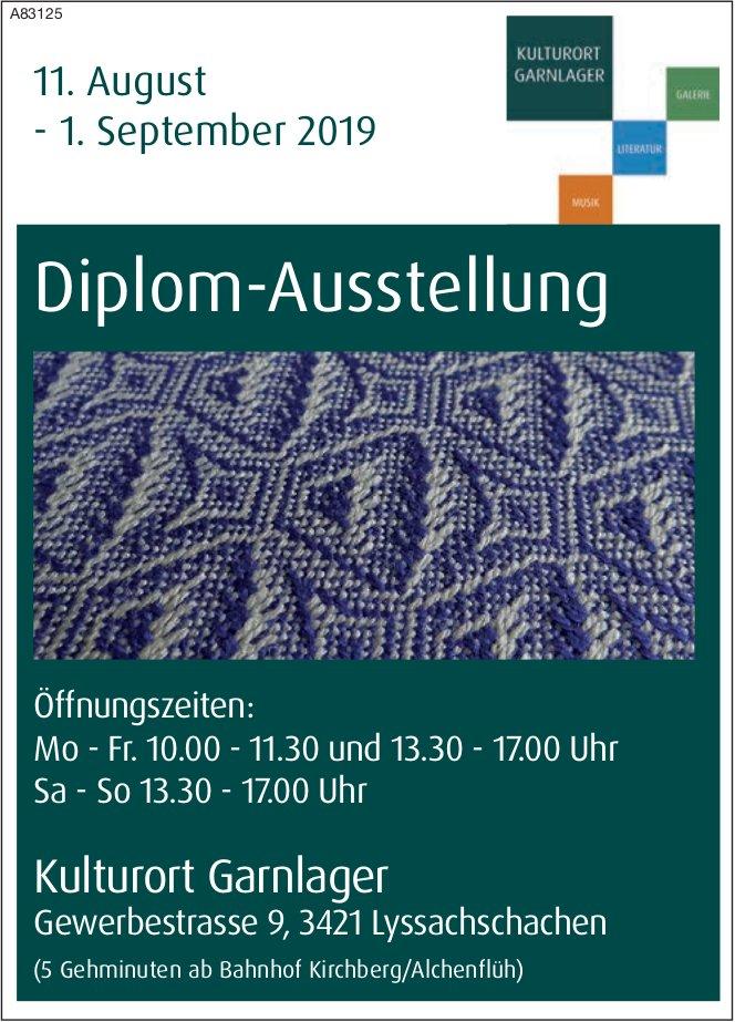 Kulturort Garnlager - Diplom-Ausstellung, 11. August - 1. September