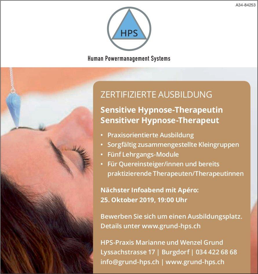 Human Powermanagement Systems - ZERTIFIZIERTE AUSBILDUNG: Nächster Infoabend am 25. Oktober
