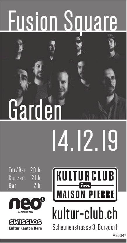 Kulturclub im Maison Pierre - Fusion Square, Garden, 14. Dezember