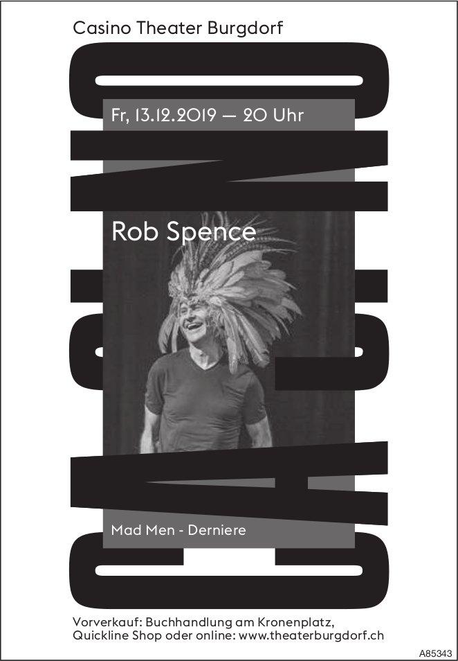 Casino Theater Burgdorf - Rob Spence, Mad Men, Derniere, am 13. Dezember