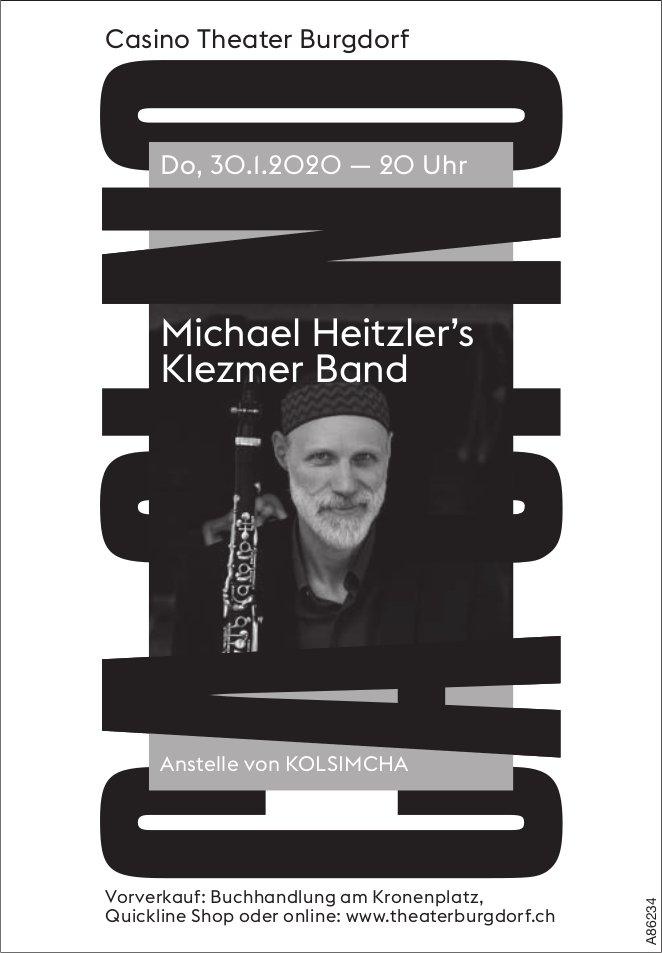 Casino Theater Burgdorf - Michael Heitzler's Klezmer Band am 30. Januar