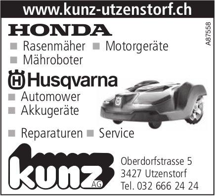 Kunz AG,  Utzenstorf-Konda / Husqvarna