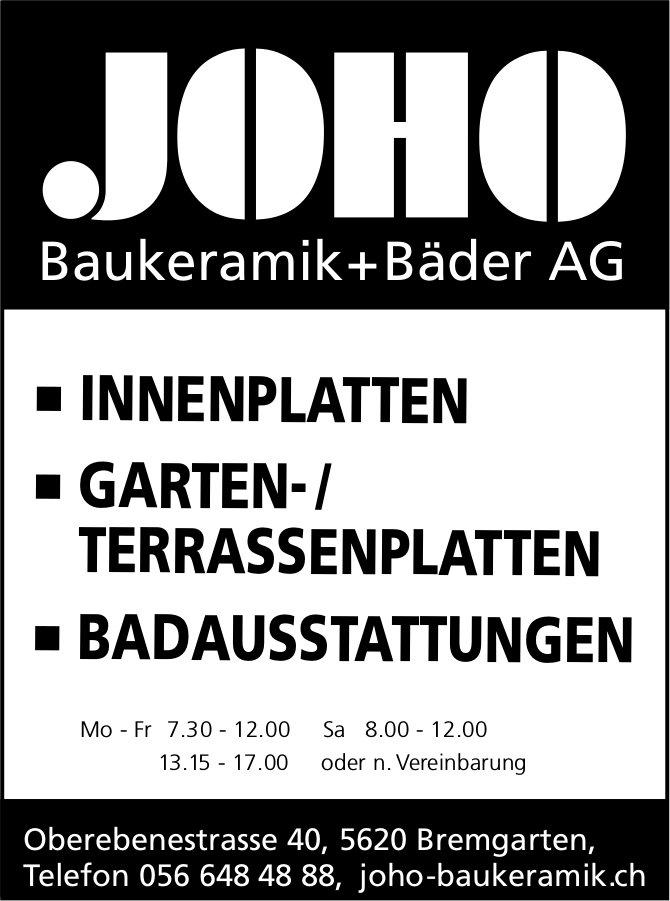 JOHO Baukeramik+Bäder AG