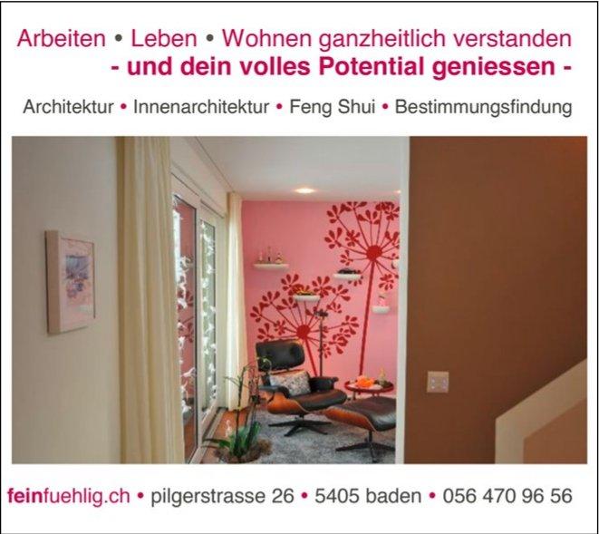 Arbeiten / Leben / Wohnen ganzheitlich verstanden, feinfuehlig.ch