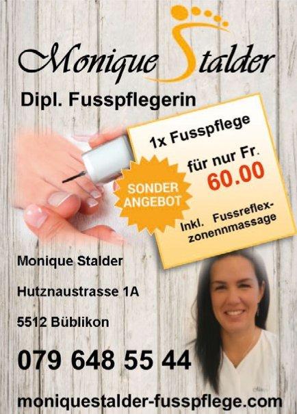 Monique Stalder Dipl. Fusspflege, Sonderangebot