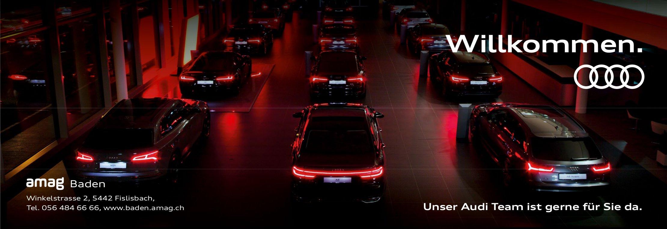 Unser Audi Team ist gerne für Sie da, amag Baden