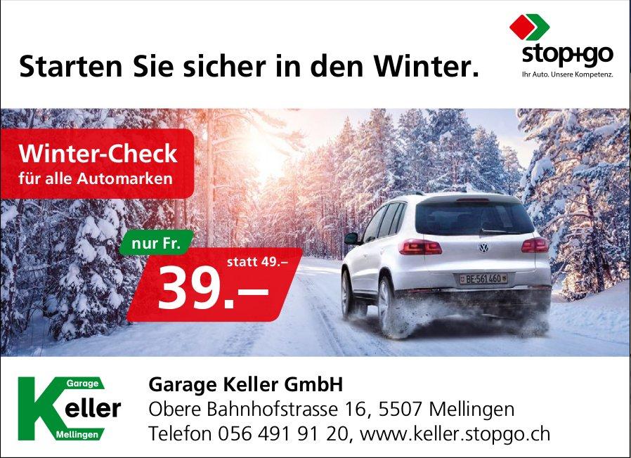 Winter-Check für alle Automarken nur Fr. 39.-, Garage Keller GmbH