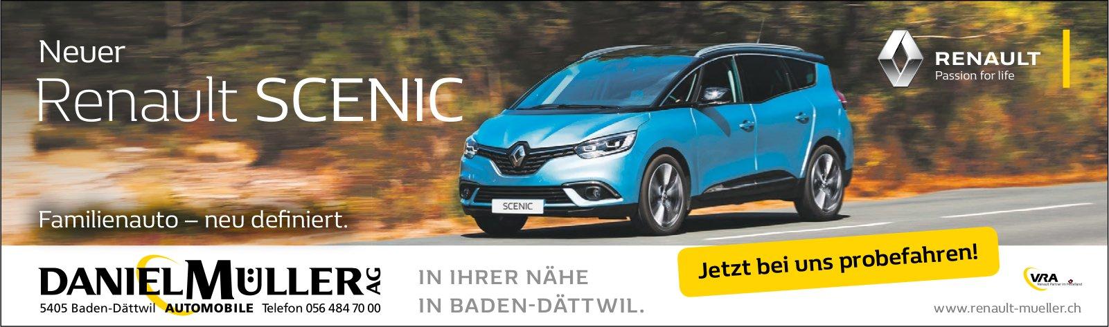 Neuer Renault SCENIC, Daniel Müller AG