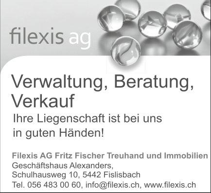 Verwaltung / Beratung / Verkauf, Filexis AG Fritz Fischer Treuhand und Immobilien