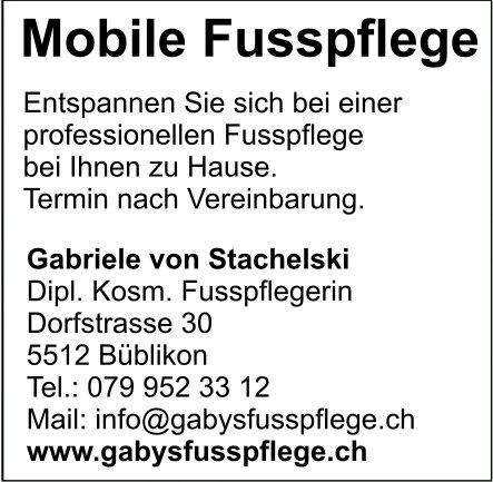 Mobile Fusspflege Gabriele von Stachelski