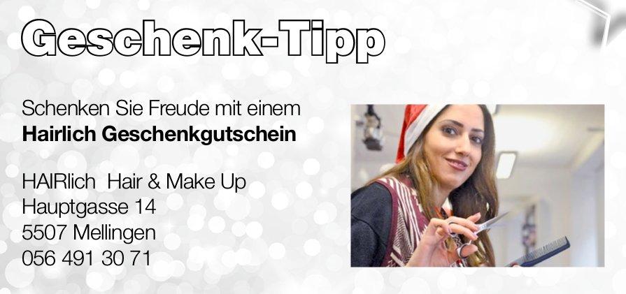 Geschenk-Tipp, HAIRlich Hair & Make Up