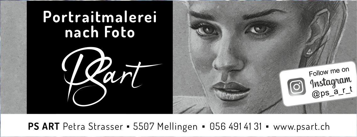 Portraitmalerei nach Foto, PS ART