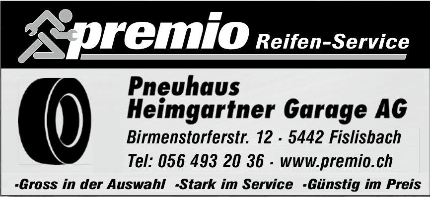 Premio Reifen-Service, Pneuhaus Heimgartner Garage AG