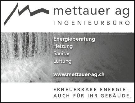 Mettauer AG - Erneubare Energie, auch für Ihr Gebäude