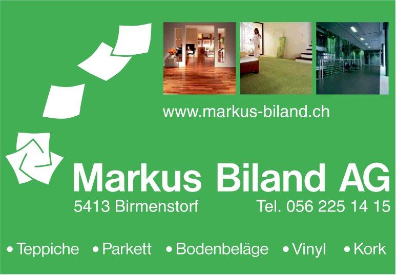 Markus Biland AG - Teppiche, Parkett, Bodenbeläge, Vinyl, Kork