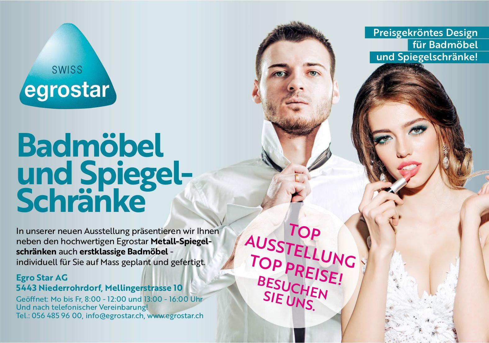Egro Star AG - Badmöbel und Spiegel-Schränke