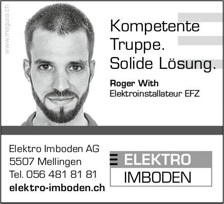 Elektro Imboden AG - Kompetente Truppe. Solide Lösung.