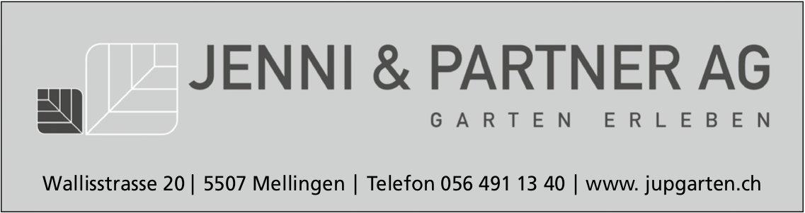 JENNI & PARTNER AG - GARTEN ERLEBEN