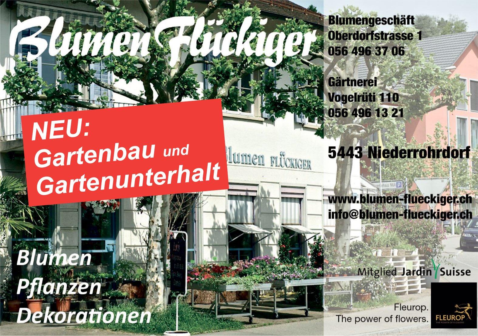 Blumen Flückiger - Blumen, Pflanzen, Dekorationen