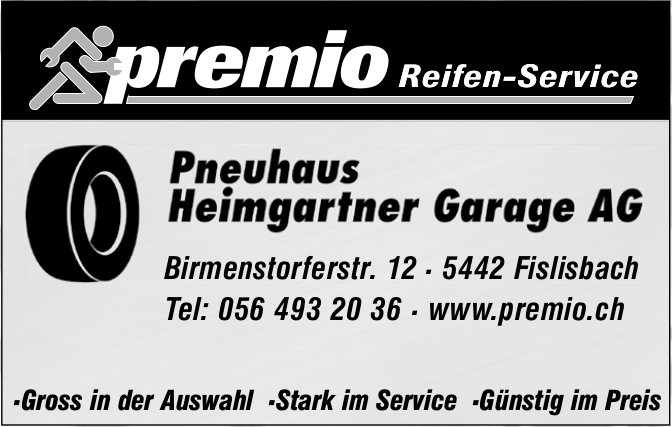 Pnguhaus Hamgarfner Garage AG - Premio Reifen-Service