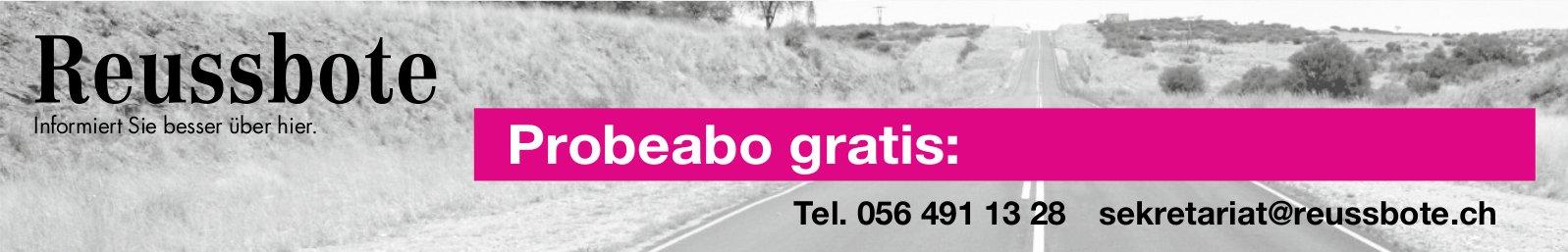 Reussbote - Probeabo gratis