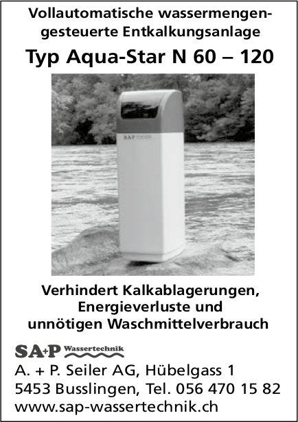 A. + P. Seiler AG Wassertechnik - Vollautomatische wassermengengesteuerte Entkalkungsanlage