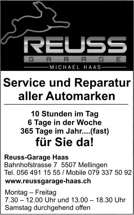 Reuss-Garane Haas - Service und Reparatur aller Automarken